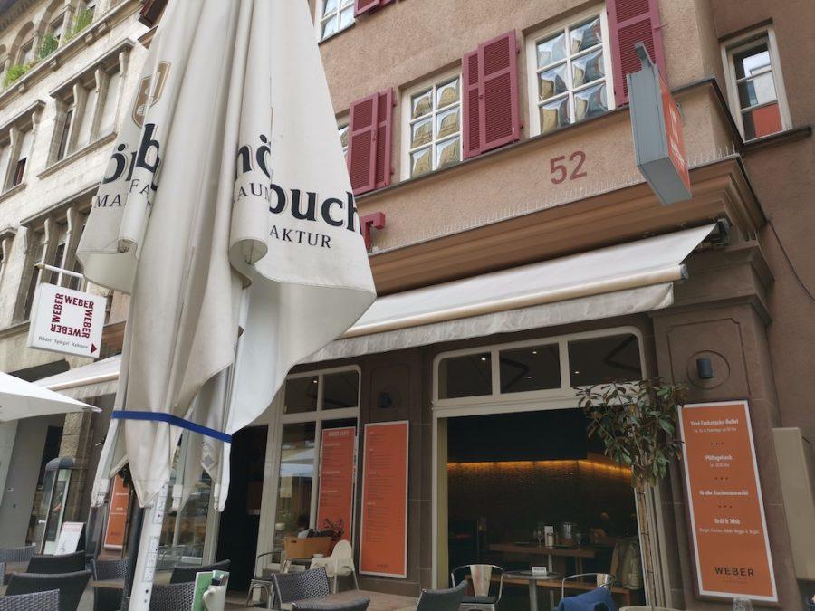 Das WEBER in Stuttgart von außen