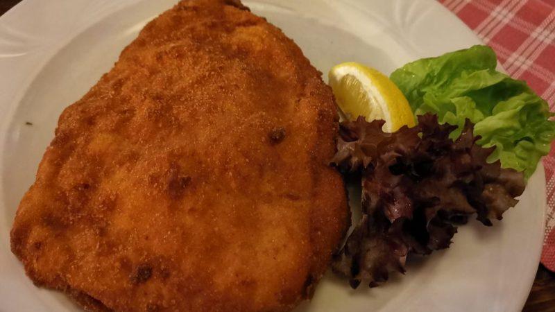 Das Cordon Bleu in der Gastwirtschaft Pürstner Wien