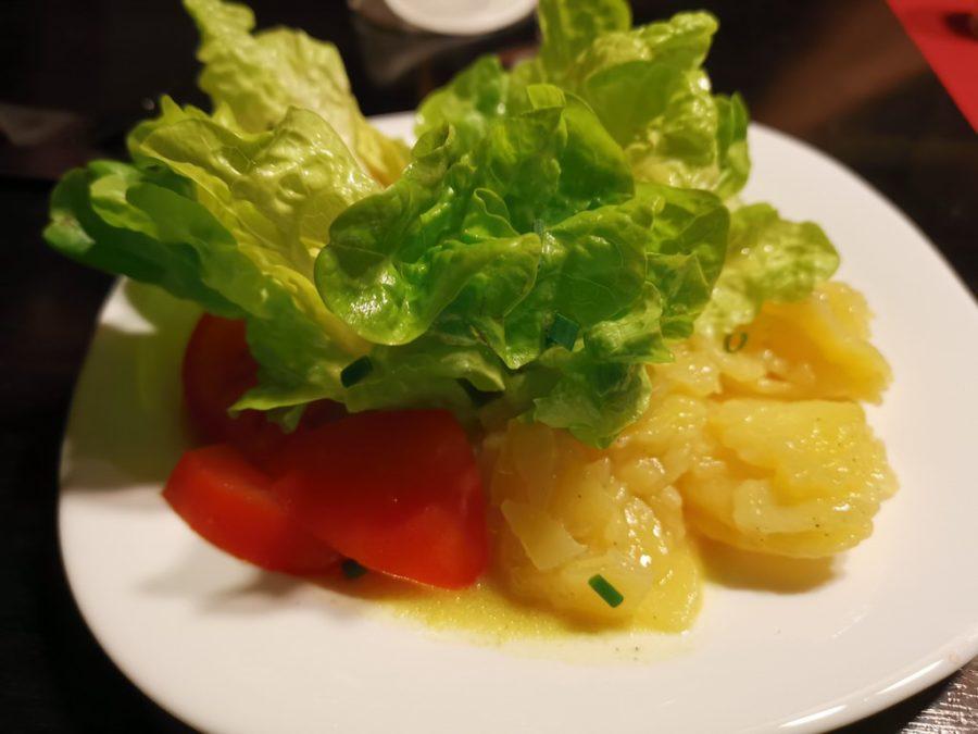 Beilagensalat im Viertelesschlotzer Stuttgart