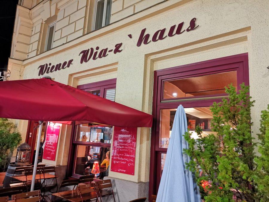 Das Restaurant Wiener Wia-z'haus von außen